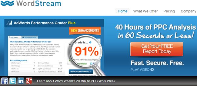 best keyword research tools - WordStream