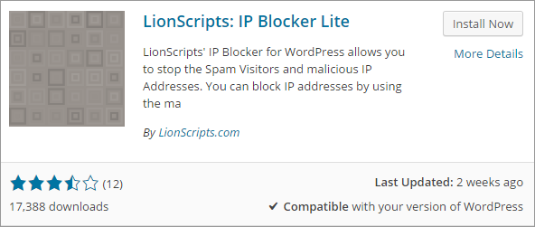 How to block IP address to enhance the security of WordPress 1