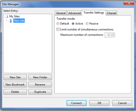 Setting Up FTP Connection with FileZilla 4