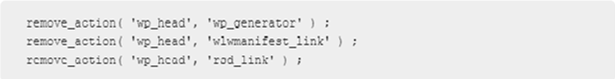Eliminate Ineffectual Meta Tags from Header