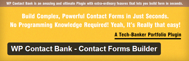 WP Contact Bank – Contact Forms Builder