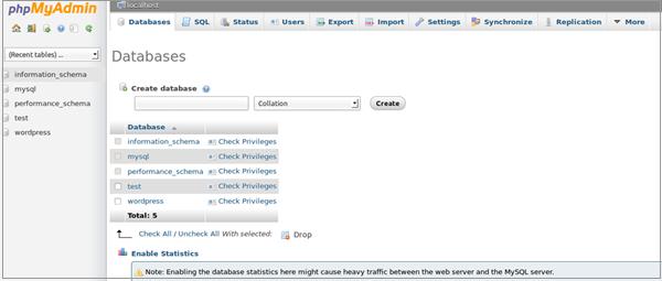 Improt MySQL Database Using phpMyAdmin