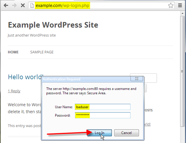 how to stop unauthorized login attempts to wordpress? bisend blog Create PHP Password Script stop unauthorized wordpress login attempts 10
