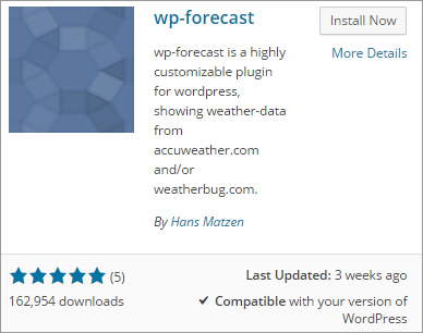 Tips on How to Add a Weather Forecast Widget to Your WordPress Site 1