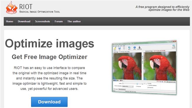 image optimization riot