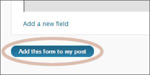 Create WordPress Contact Form 2