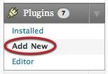 Install WordPress Plugin Dashboard - 1