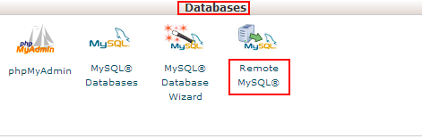 Authorize MySQL Connection in the cPanel Interface-1