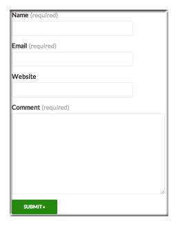 Create WordPress Contact Form 5