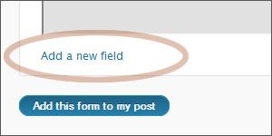 Create WordPress Contact Form 6