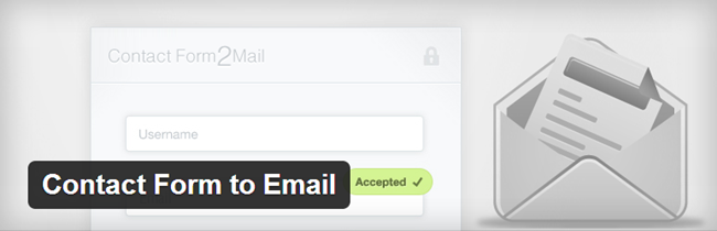 WordPress Contact Form Plugin - Contact Form to Email