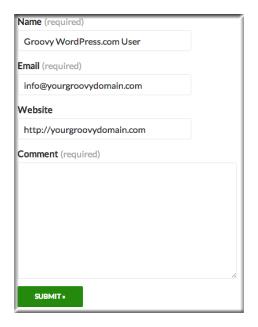 Create WordPress Contact Form 4